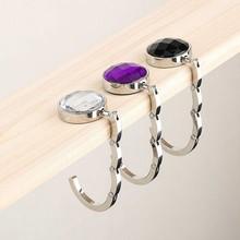 Crochet de suspension Portable en alliage de cristal   Pour porte-monnaie, sac à main suspendu, offre spéciale