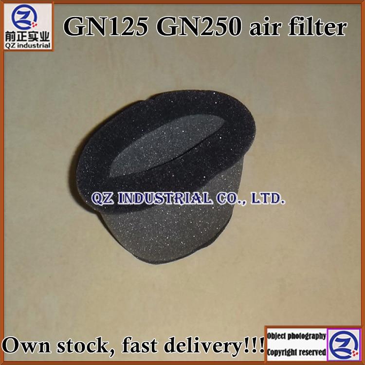 Frete grátis novo e original de alta qualidade para SUZUKI GN250 filtro de ar da motocicleta GN125