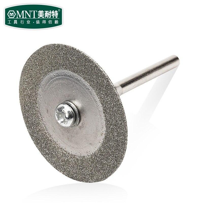 Алмазное шлифовальное колесо, 10 шт., 20 мм, ломтик с двумя 3 мм хвостовиком, шпиндель для вращающегося инструмента Dremel