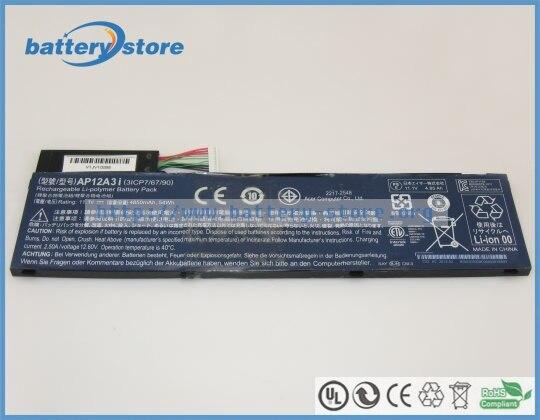 Новая Подлинная батарея AP12A3i AP12A4i 3ICP7/67/90 54Wh для ACER Aspire M5-581T ACER Iconia w700 ACER Aspire M5-481PTG