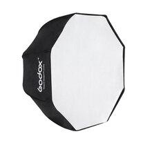 Godox 120 cm/47.2in 사진 스튜디오 휴대용 팔각형 우산 softbox brolly 반사판 speedlite 플래시 라이트 사진