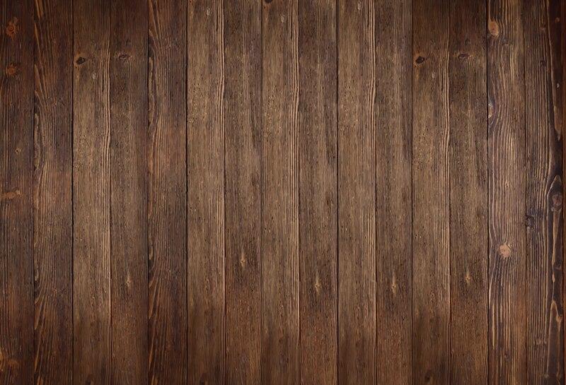 HUAYI Fotografia Fundo do vintage de brown madeira floordrop foto Estúdio fotografia de Produtos e alimentos De Madeira Recém-nascidos fundo XT-5290
