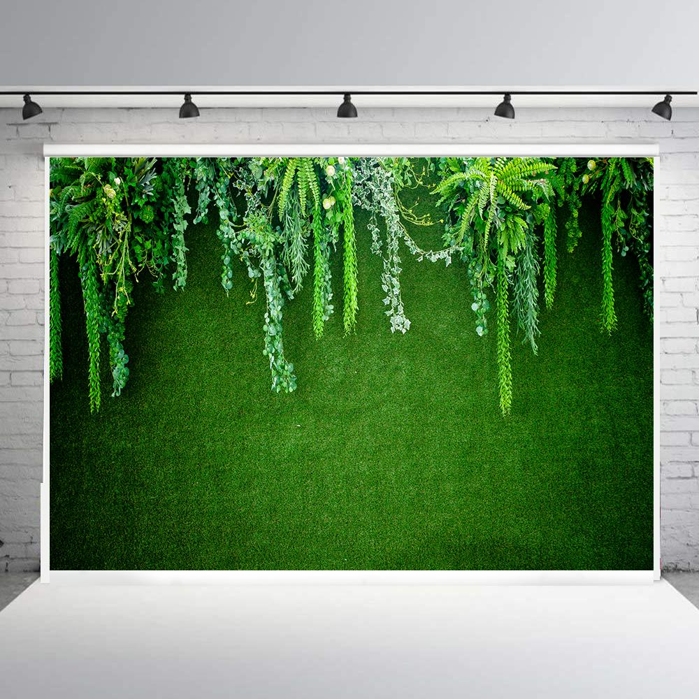 BEIPOTO despedida de soltera Fondo hojas verdes boda baby Shower fotografía Fondo postre decoración de fiesta de mesa banner B188