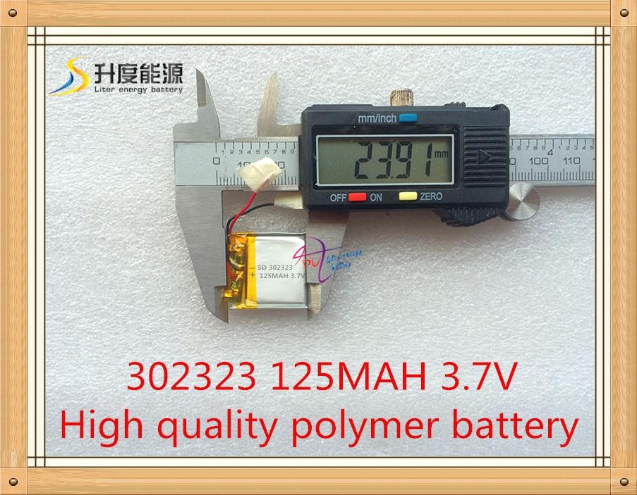 [Oferta especial da bateria clipe de bateria 032323 125MAH (Figura)