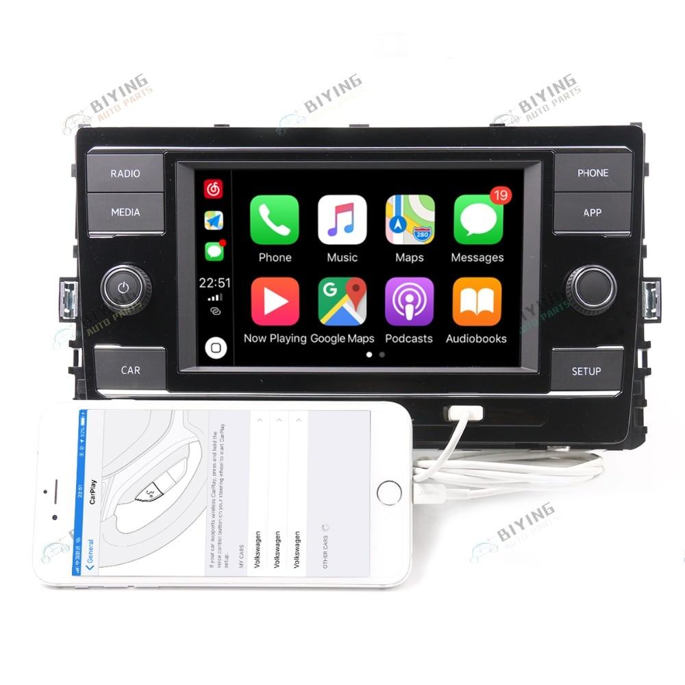 Carplay radio mib 5GG035280E dla VW Golf 7 Sportsvan CarPlay Mirrorlink 1GB 5GG 035 280E/D