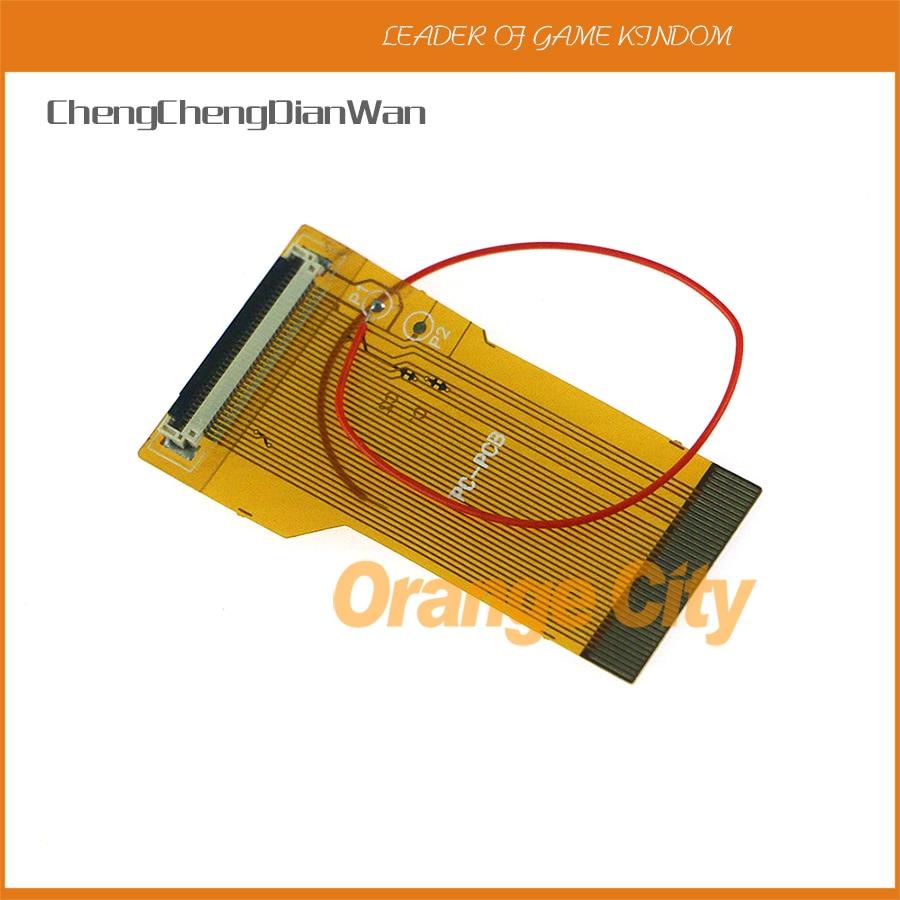 Chengchengdianwan 32pin 40pin a & b para gba cabo de fita ags 101 32 40 pinos retroiluminado highlit adaptador tela mod pçs/lote