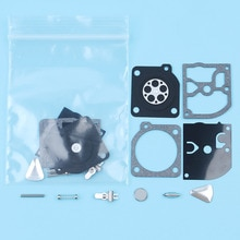 Kit de réparation de diaphragme de carburateur, 2 pièces, pour Husqvarna 45 40 49 55 51 scie H55 H51 240R 245R tondeuse Zama RB-45