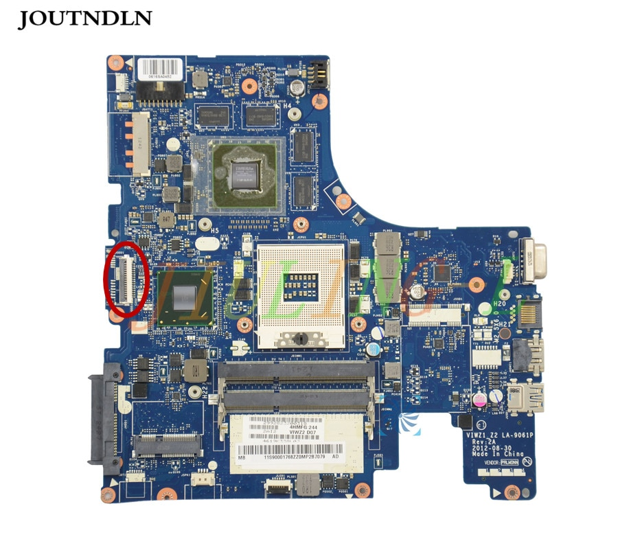 Joutndln para lenovo z500 computador portátil placa-mãe viwz1_z2 LA-9061P N13P-GSR-A2 ddr3