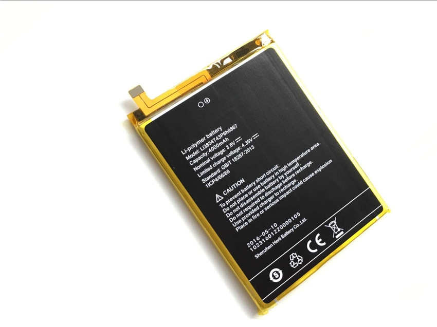 UMI SUPER Battery Li3834T43P6H8867 New High Quality 4000mAh Li-ion Replacement Battery for UMI SUPER Smartphone enlarge