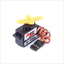 4 pièces/lot puissance HD 1.1kg/ 5.9g HD-1550A Servo analogique avec engrenage en plastique (Compatible avec FUTABA/JR)