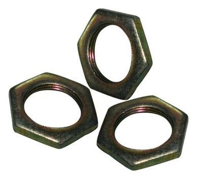 Wkooa, 50 Uds., paso de hilo de paso fino, 0,75mm, Tuercas delgadas hexagonales, tamaños M8