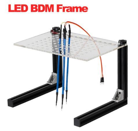 LED BDM Frame Programmer Full Set For KESS / KTAG / Fgtech Galletto / BDM100 / KTM100 Car ECU Chip Tuning Tool with 4 Probe Pens