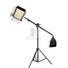 Ультратонкий Светодиодный светильник Yongnuo YN1200 CRI95 1200 для видеосъемки, ing двухцветный светильник 3200 5500K + 2m, подставка, кронштейн, адаптер питания