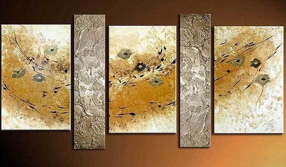 Modern High Quality Handmade Nature Painting