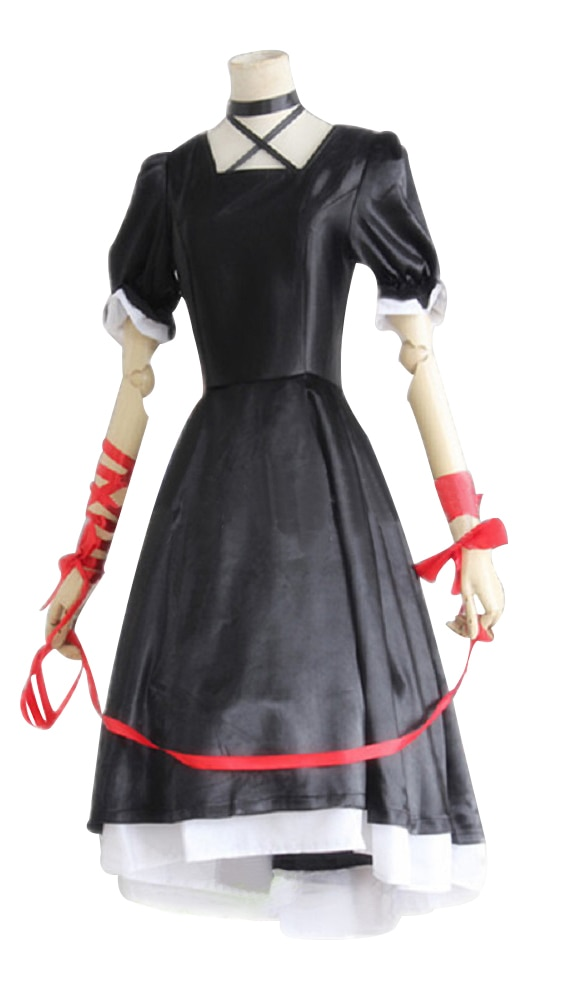 Vestido de Cosplay Kagari Lolita Rewrite