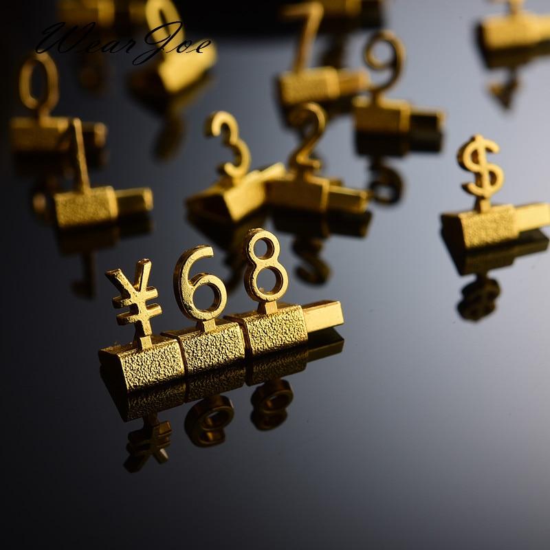 Estantería de Metal 3D de lujo, etiqueta de precio ajustable, callos, precio...
