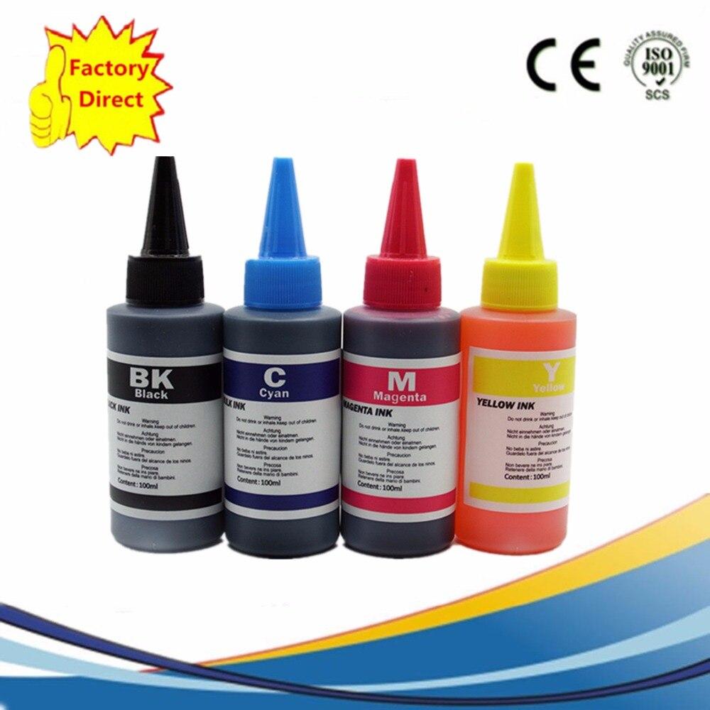 /Color Premium Specialized Refill Dye Ink Kit For Epson Stylus NX125 NX127 NX130 NX230 NX420 NX530 NX625 320 323 325 520