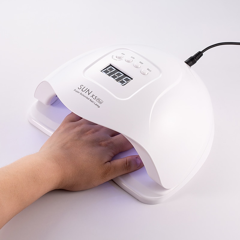 CHHENYE SUNX5PLUS 80W UV Lamp for Nail Dryer Gel Polish Varnish Manicure led Nail Lamp SUN Light With Sensor Ice Lamp Nail Tools