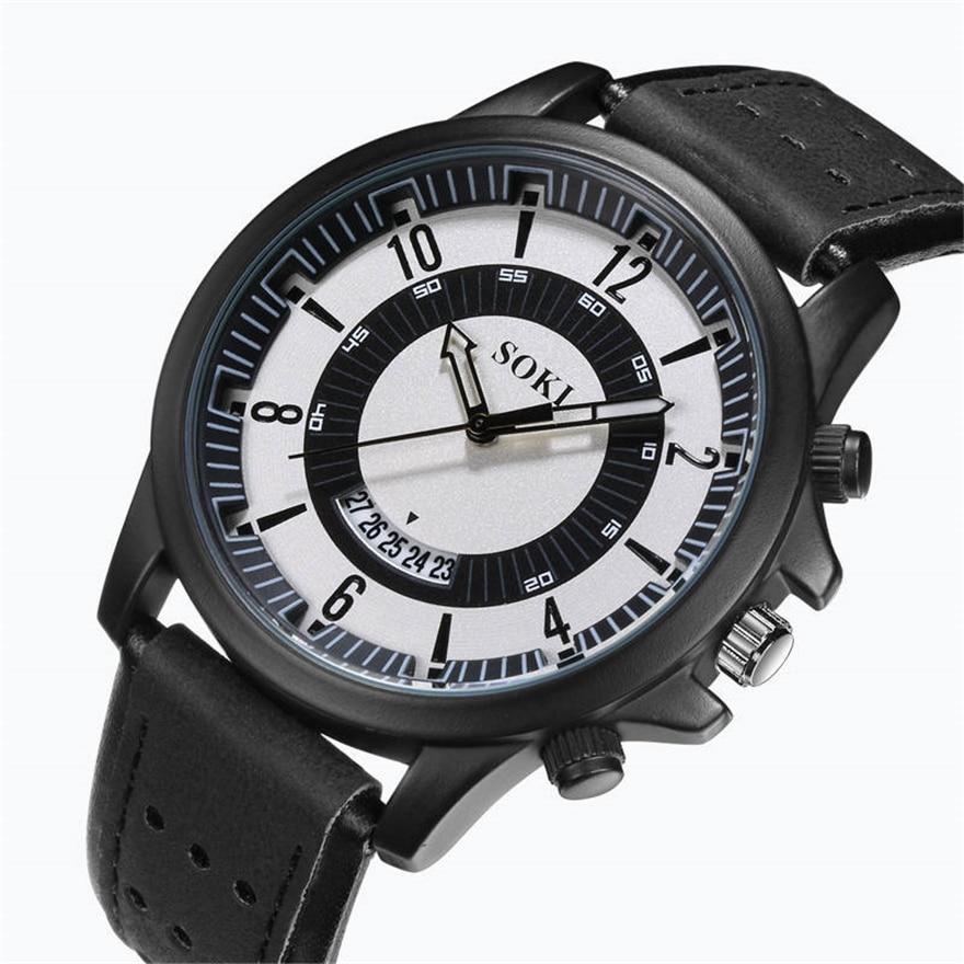 Relojes de moda para hombre, reloj deportivo informal militar, reloj de pulsera de cuarzo de alta calidad, reloj de hombre, reloj Masculino