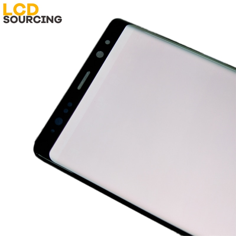 Red Burn-Shadow LCD Display For Samsung Galaxy Note 8 N9500F Disaplay Screen and Touch Digitizer Assembly with Frame Replacement enlarge