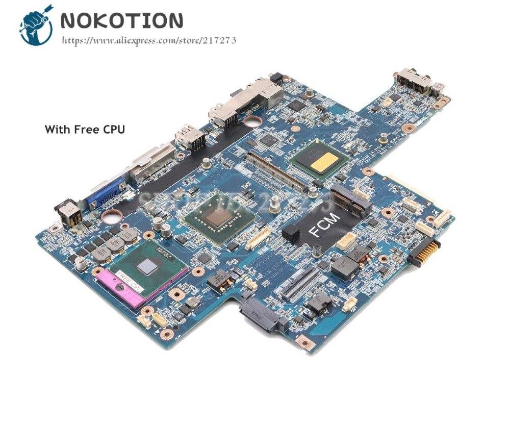 NOKOTION لديل الدقة M6300 اللوحة المحمول 965PM DDR2 شحن CPU IAQ20 LA-3751P CN-0JM679 0JM679 JM679