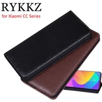 rykkz luxury leather flip cover for xiaomi mi cc 9 6 39 mobile stand case for xiaomi cc 9e leather phone case cover