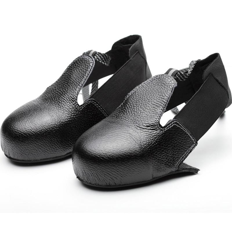 Противоскользящие унисекс, сталь, защитный чехол для обуви, Универсальные промышленные защитные боты
