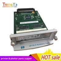 2PCS X C7772A C7776-60002 For HP Designjet 500 500plus GL2 Card Formatter Board Card +128M Fixes 05:09 05:10 ink plotter