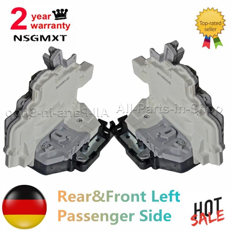 AP01 Rear +Front Left/Passenger Side Door Lock Mechanism For Audi Q5 A4 A5 Q7 TT  Volkswagen Touare g  8K0839015  8J2837015A