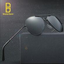 2017 New HD polarized Vintage Retro Aviation Black Sunglasses Men Luxury Sun Glases Brand Designer Oculos De Sol titanium 125