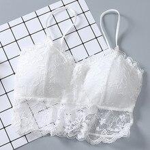 Women Tube Top Sexy Bra Seamless A Chest Pad Wearing Sports Underwear Tube Bra Ladies Off Shoulder Crop Top Women Tops 3*0