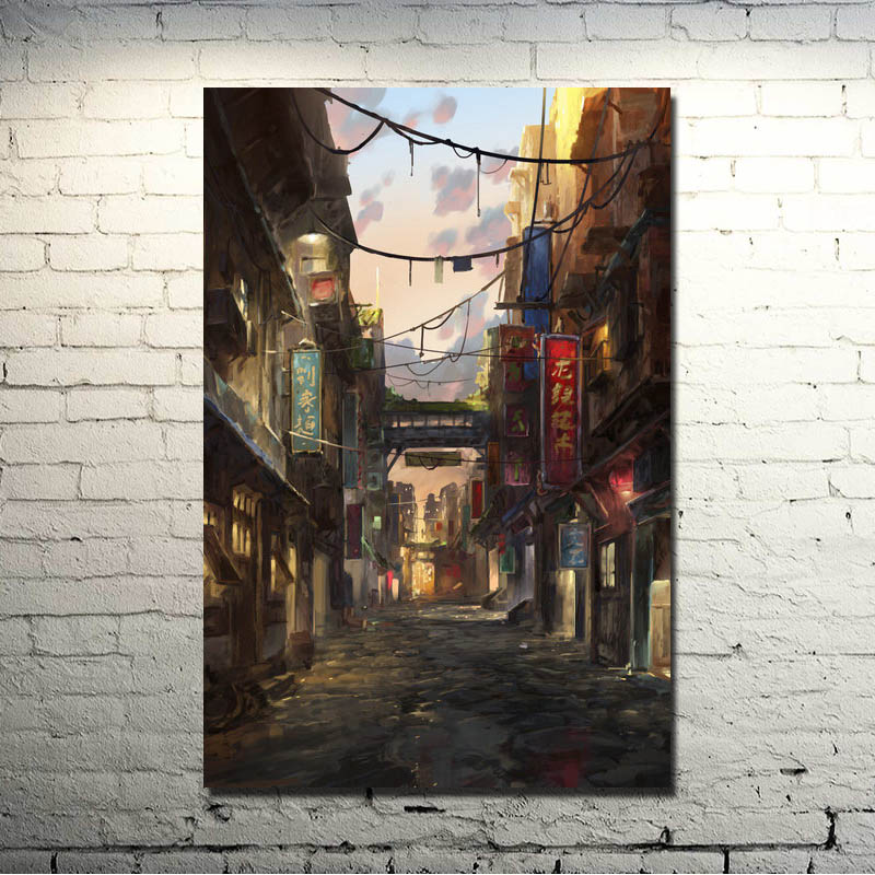 POPIGIST-Avatar The Legend Of Korra Hot Anime Comic Art Silk Poster Print 13x20 24x36 inches Home Wall Decoration 013
