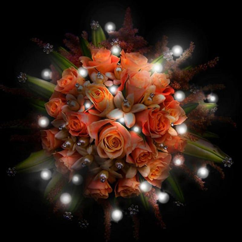 ¡Perlas LED de hadas! 300 unids/lote de luces LED de fiesta para linternas, globos, luces de fiesta, juego de centros de mesa de boda, jarrones de cristal Eiffel
