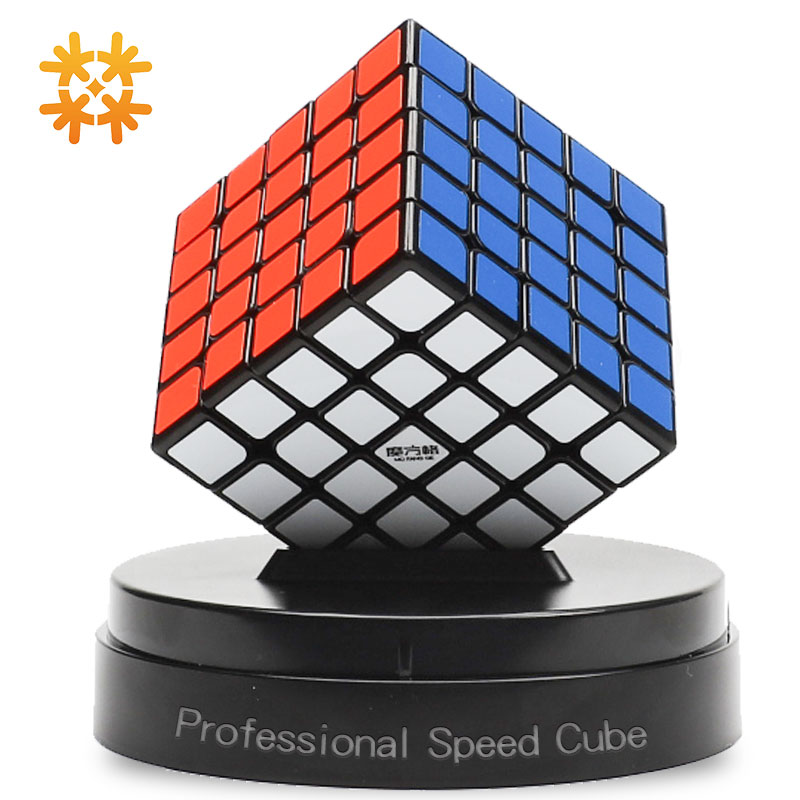 Qiyi Mofangge Wushuang 5x5x5 cubos mágicos de velocidad, puzles profesionales, cubos, juguetes de aprendizaje para niños, juguetes para adultos