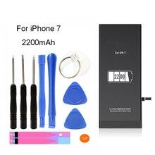 YAPY handy batterie für iphone 7 hohe kapazität 2200mAh ersatz batterie + kostenlose tools aufkleber