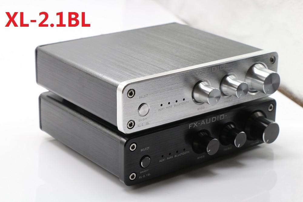 2019 FX-Audio XL-2.1BL قوة عالية 2.1 قناة Bluetooth@4.2 الصوت الرقمي جهاز تضخيم الصوت المدخلات RCA/AUX/BT 50 واط * 2 + 100 واط SW خارج