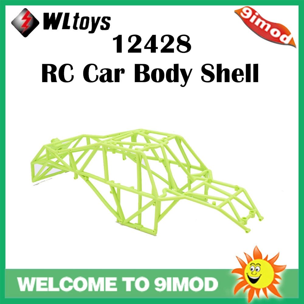 Wltoys 12428 marco RC piezas de coche 12428-1047 cuerpo de coche esqueleto integrado parte para coche 12428 RC