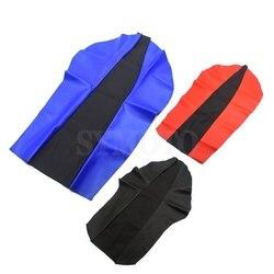 Мотоциклетная полиуретановая Кожаная подушка для сиденья, водонепроницаемый чехол для сиденья Honda XR250 XR400 CRM250 CRF250 AX-1 250 CRF CRM XR