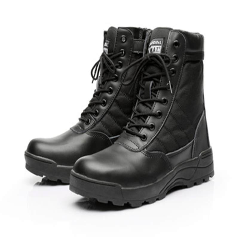حذاء رجالي ونسائي طراز عسكري, جزمة رجالية ونسائية طراز عسكري مريحة مناسبة للسير في الصحراء الرياضية