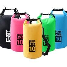 10L Outdoor Waterproof Bag Camping Trekking Dry Impermeable Backpack Swimming Beach Bike Accessories Ocean Pack Water Resistant