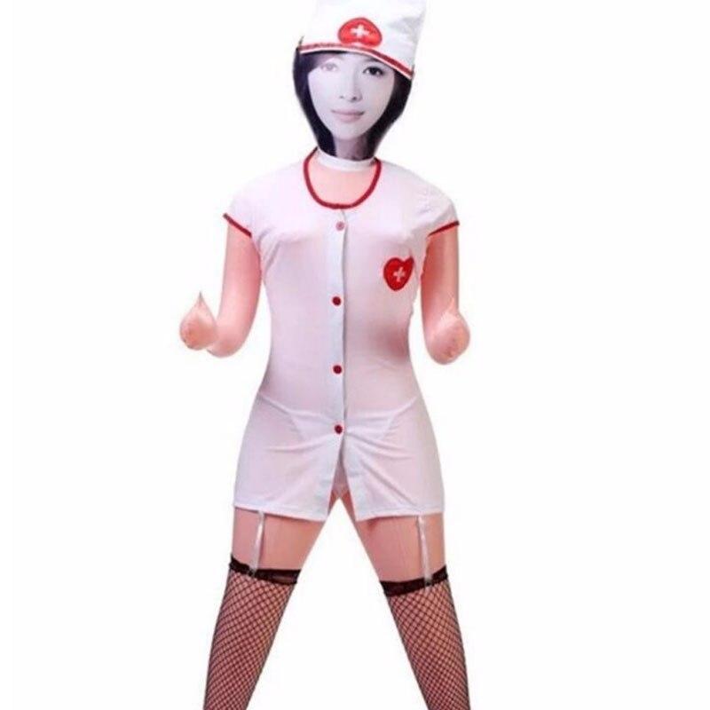 Надувная мини-кукла для мужчин, Реалистичный секс 125 см