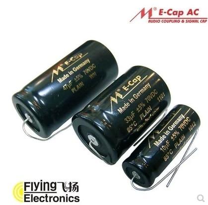 1 пакет/2 шт. Mundorf Ecap AC электролитический аудио конденсатор биполярный равнина/сырой мкФ ~ 330 мкФ неполярный ELKOS конденсатор, бесплатная достав...