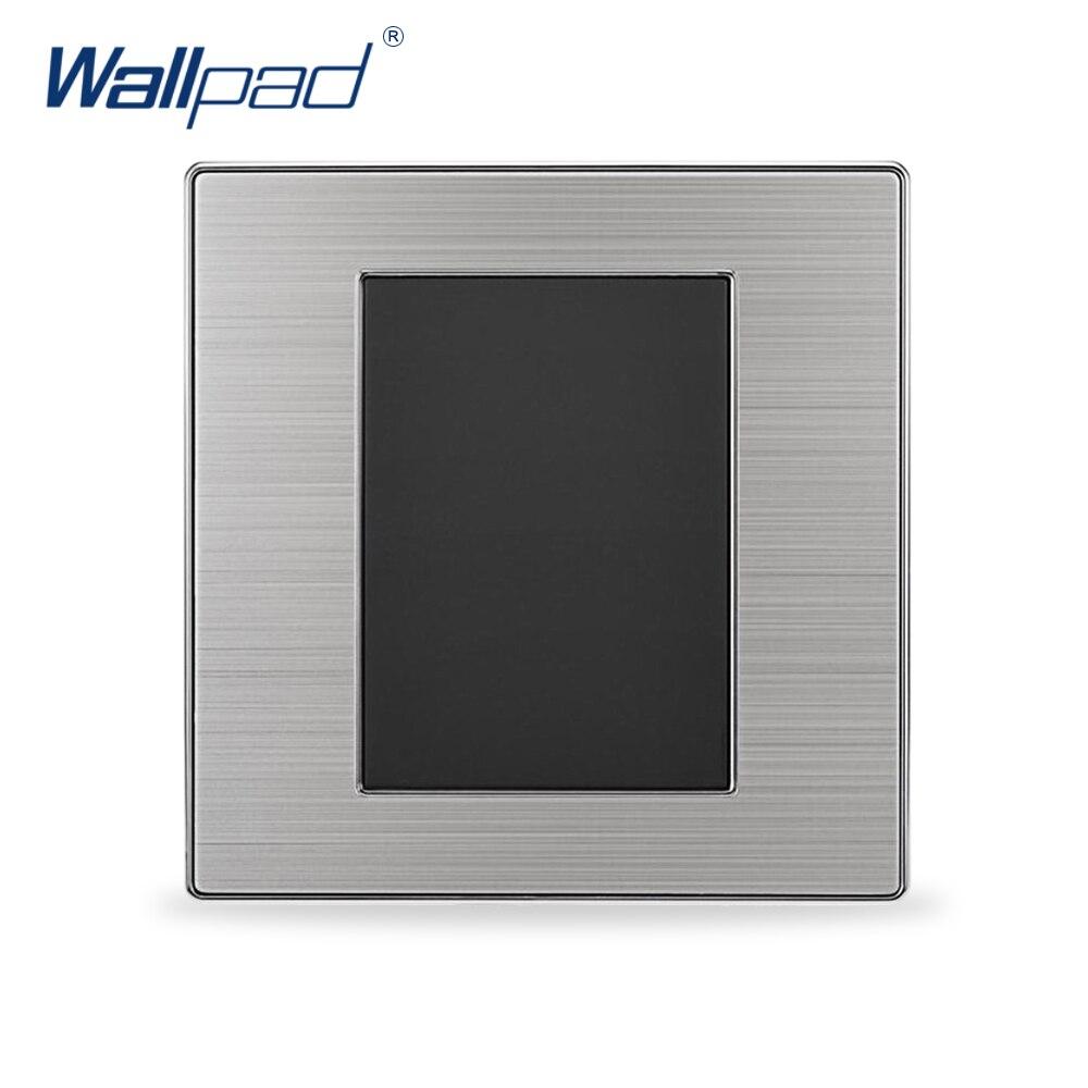 2019 gran oferta Panel de pared de lujo en blanco para el blanco en la pared negro/champán 86*86mm