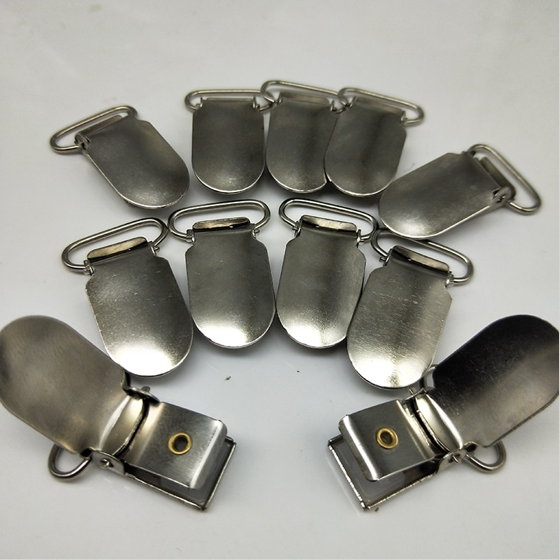 Plata/Metal bronce antiguo de la Liga chupete broches con listón titular de la Liga de Arte Plaza inserto de plástico 20mm/25mm