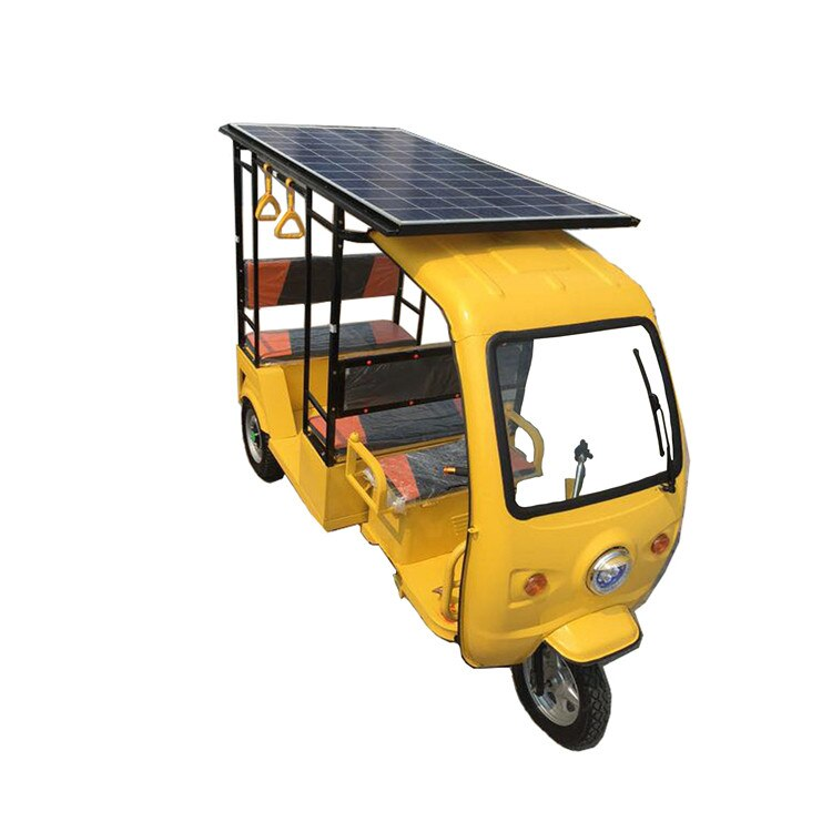 Triciclo comercial solar para 6-7 pasajeros/Carro/camión con tres ruedas Tuk Tuks