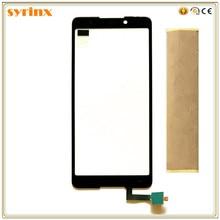 Syrinx avec bande 5.7 pouces panneau de verre de téléphone portable pour Wiko Lenny 5 Lenny5 écran tactile numériseur capteur remplacement écran tactile