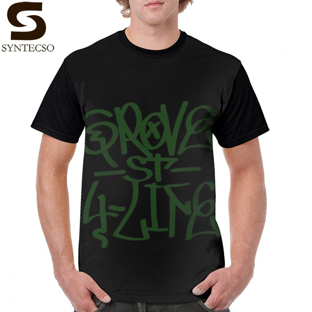 Gta San Andreas camiseta Gta San Andreas Grove St 4 vida camiseta Graffiti manga corta 6xl gráfico camiseta divertida camiseta