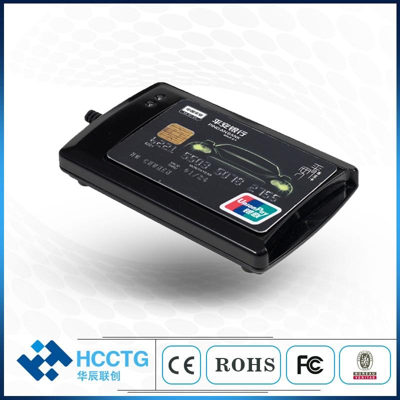 بطاقة مقشدة بطاقة NFC قارئ الكاتب DualBoost IC رقاقة قارئ البطاقة الذكية ACR1281U-C1