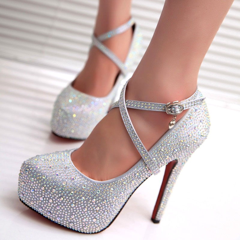 women white wedding bride bridal shoes woman sexy stiletto high heeled pumps ladies high heels shoes plus size 33 47 elissara 2021 crystal pumps women shoes platform high heels wedding shoes bride red silver platform high heels ladies shoes woman