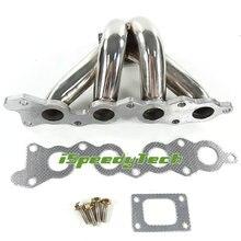 Stainless steel T25 T28 Turbo Manifold for Suzuki Swift GTi G13B 1.3L exhaust Header